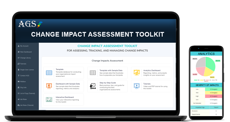 AGS Change Impact Assessment Application