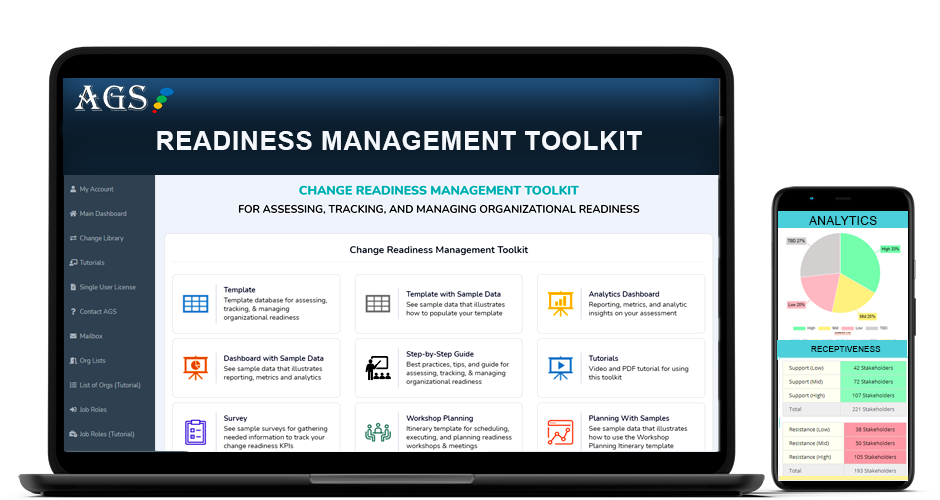 Change Readiness Assessment Template