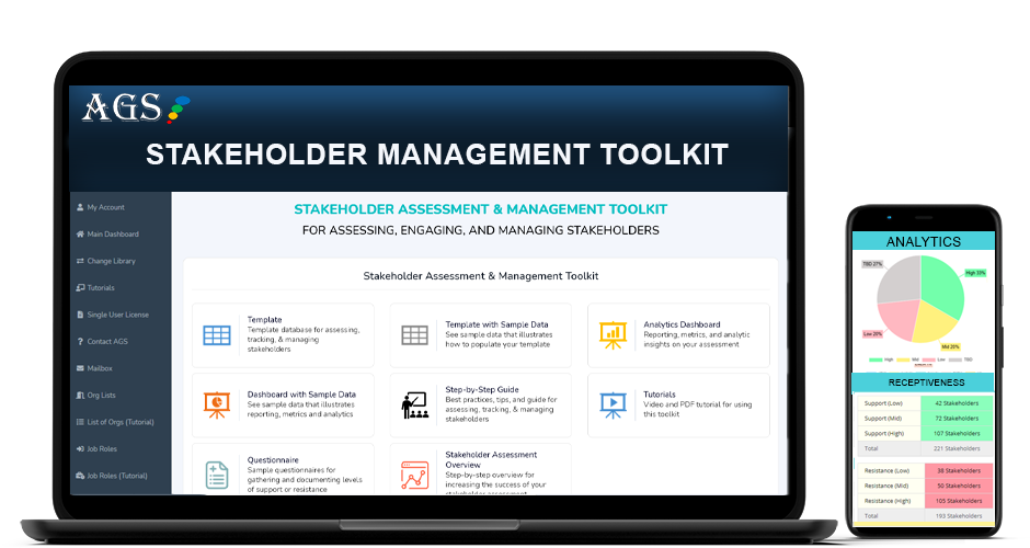 Stakeholder Management Toolkit Template