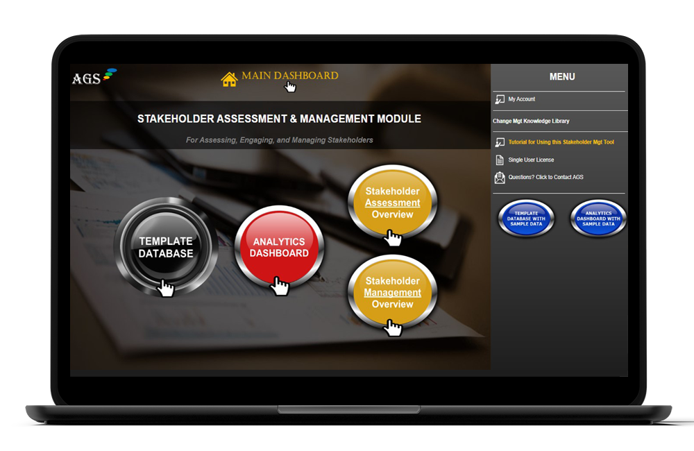 AGS Cloud Stakeholder Management Tool