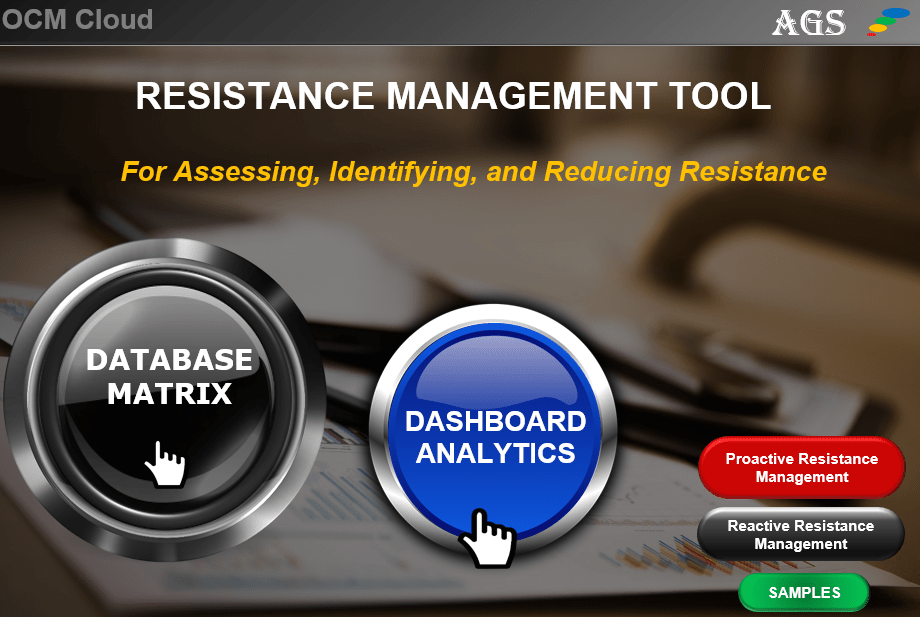 OCM Resistance Management Software Tool - Reduct Resistance to a Change-min