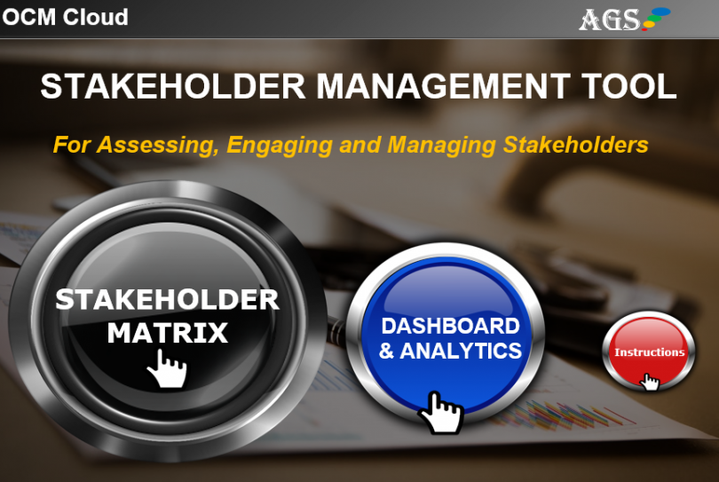 Stakeholder Management Software - Assess, Track, Report and Manage Stakeholders