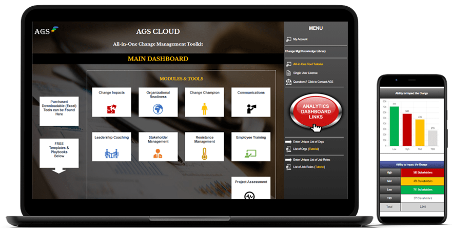 AGS Change Management Software for Change Consultants & Managers-min