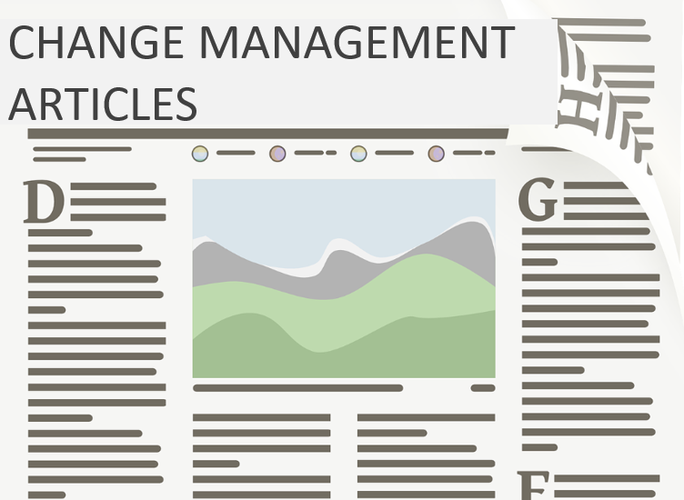 Organizational Change Management Articles, Content & Publications