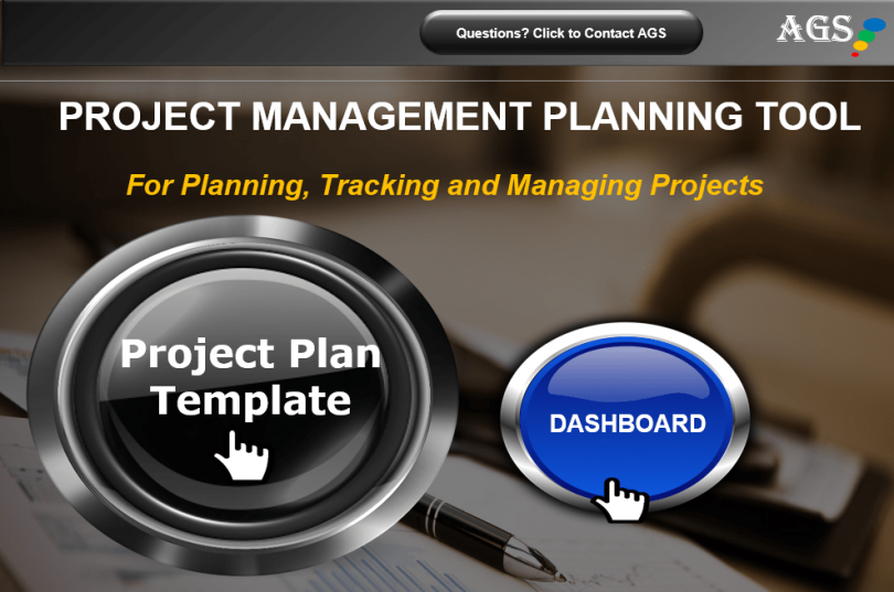 Free Project Plan Template Excel-min