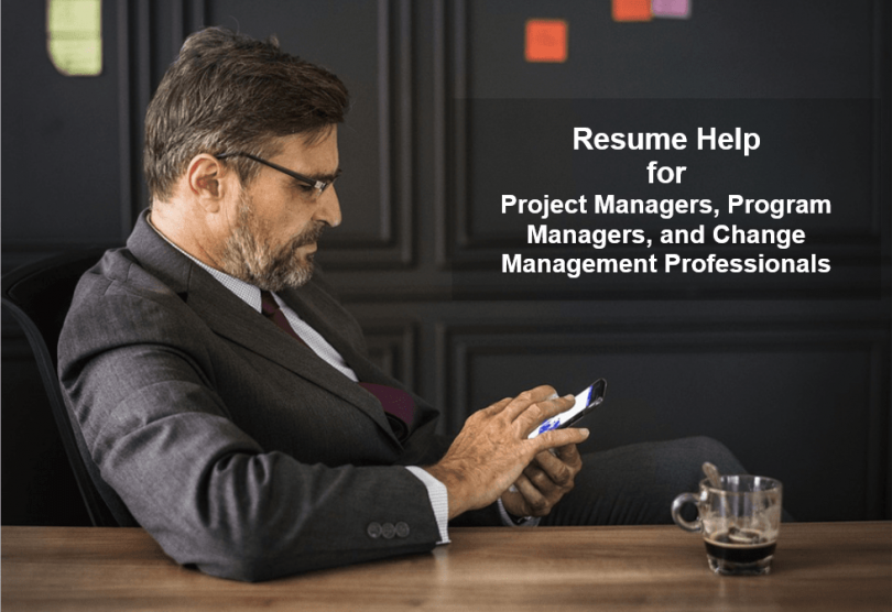 Project Manager Resume Help Services - Update and Improve Your PM Resume-min