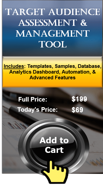 Target Audience Analysis Tool and Audience Assessment Software