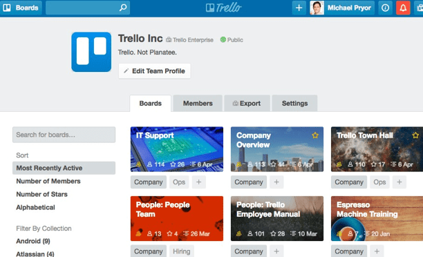 Trello review Online Task Management Software