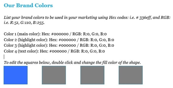 Free Marketing Strategy Template from AGS