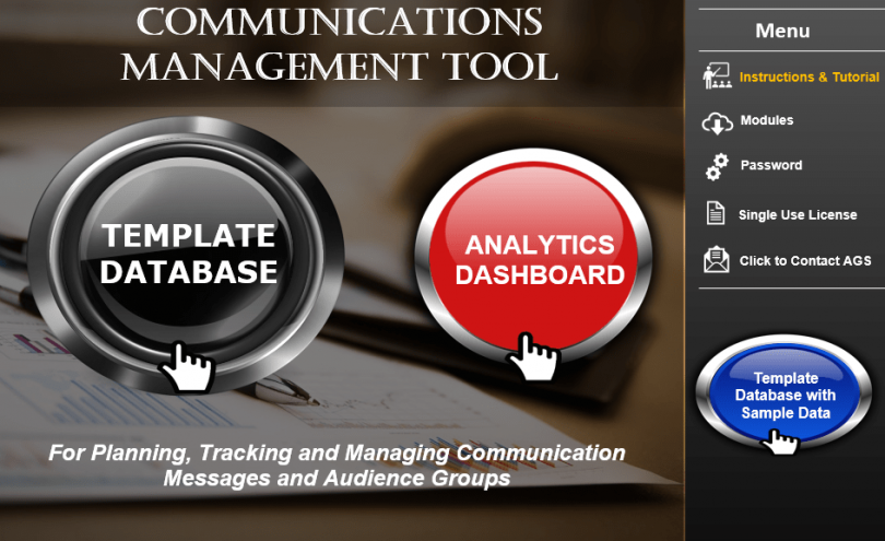 Project Management Communications Management Tool-min