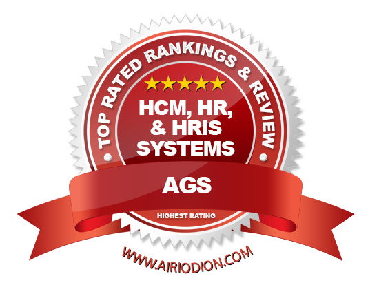 AGS Award Emblem - Best HCM, HR, & HRIS Systems