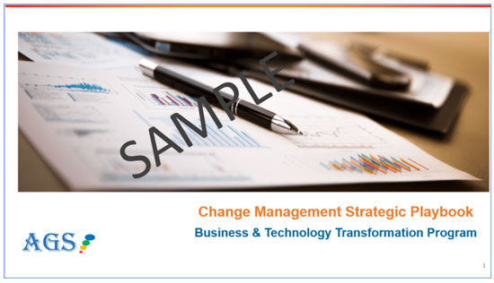 AGS change management training ppt