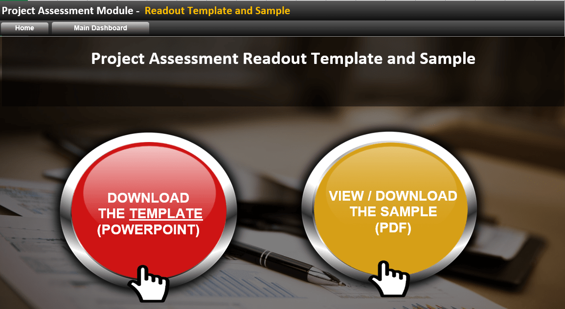 Project Review Readout Template-min