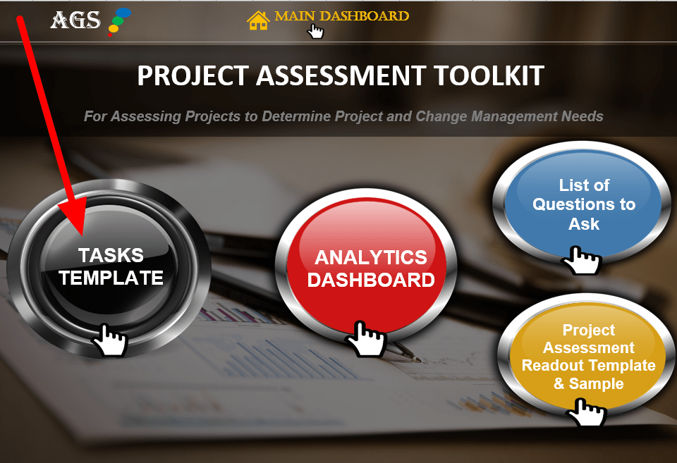 Tasks Template for Analyzing a Project - Airiodion Global Services-min