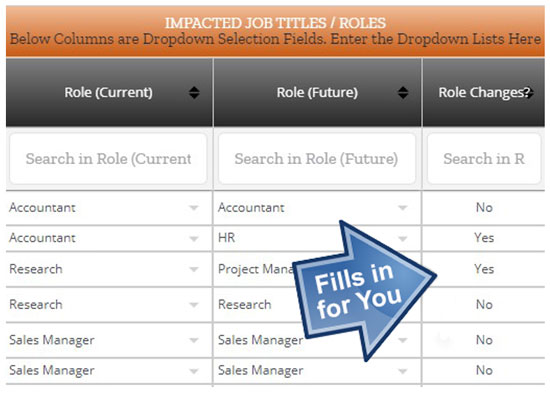impact assessment template project management