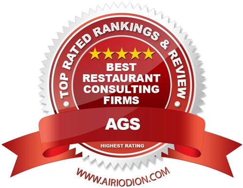Red Award Emblem for Top Best Restaurant Consulting Firms