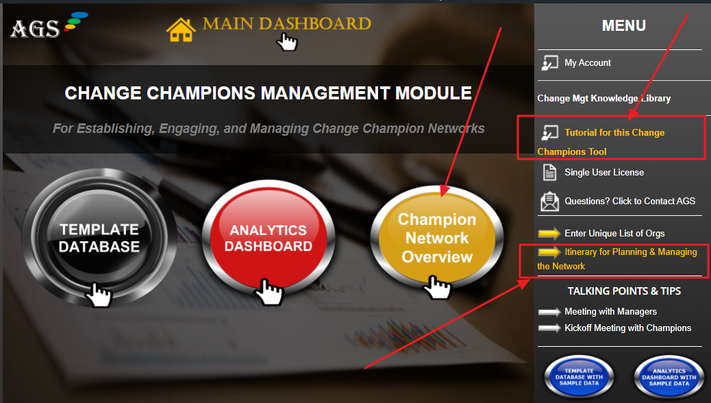 Change Management Change Champion Tool and Toolkit
