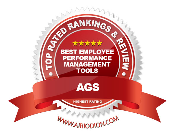 Top Ranking Employee Performance Management & Appraisal Software Tools (Red) Award Emblem