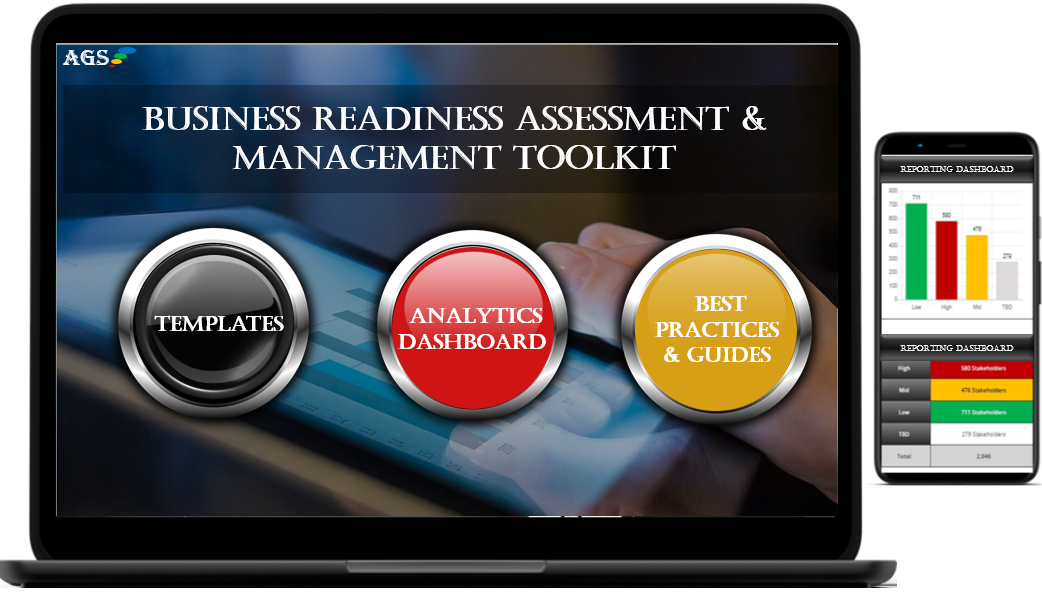 Business Readiness Assessment and Management Templates and Dashboards