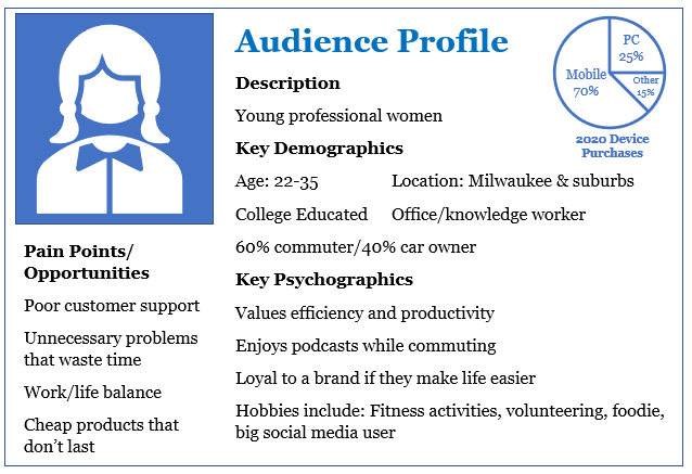 Target Audience Profile Example