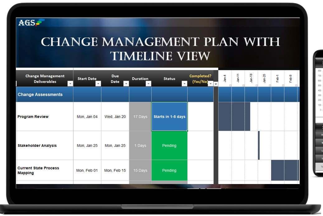 Free Change Management Template