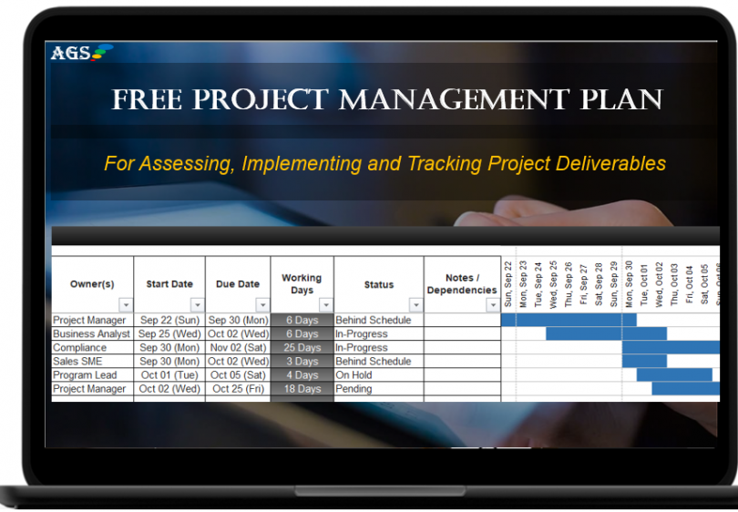 Free Project Management Plan Template - Excel, Software