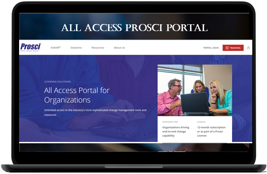 Prosci eToolkit - All Access Prosci Portal for Organizations