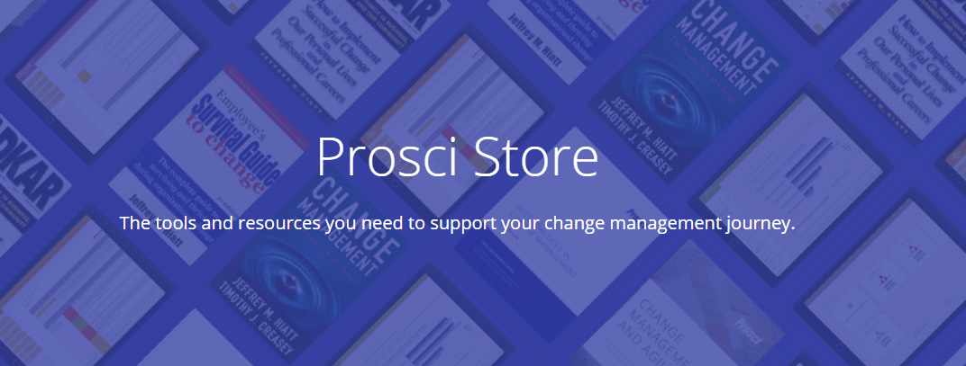 The Prosci Bookstore - The Practitioner eToolkit-min