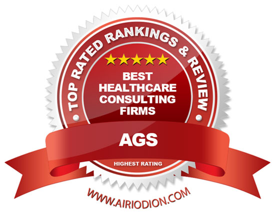 AGS Award Emblem - Top Healthcare Consulting Firms
