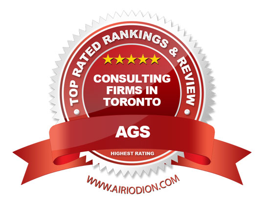 AGS Award Emblem - Consulting Firms in Toronto