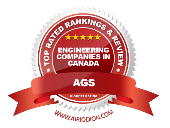 AGS Award Emblem - Engineering Companies in Canada