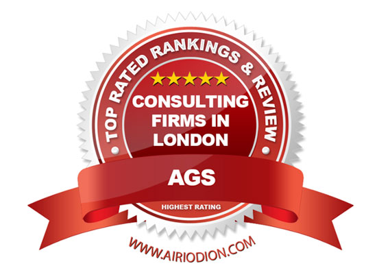 AGS Award Emblem Top Consulting Firms in London