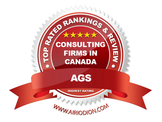AGS Award Emblem - Top Consulting Firms in Canada