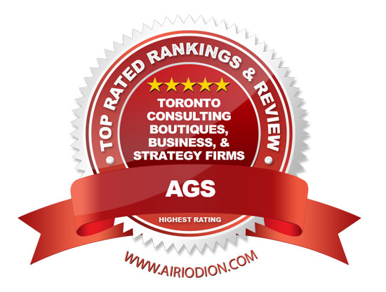 AGS Award Emblem - Top Toronto Consulting Boutiques, Business, & Strategy Firms