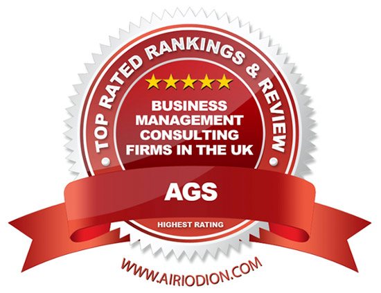 AGS Award Emblem - Best Business Management Consulting Firms in the UK