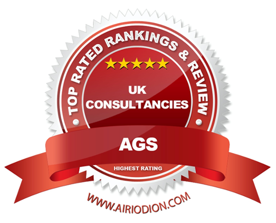 AGS Award Emblem - Best Consulting Firms UK