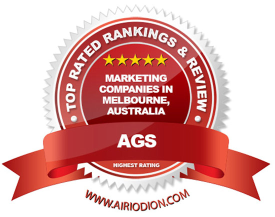 AGS Award Emblem - Best Marketing Companies in Melbourne, Australia