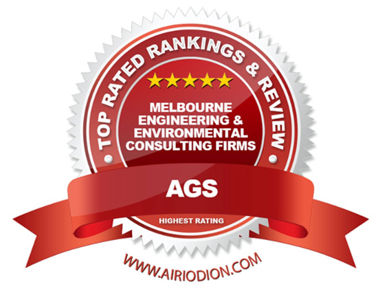 ASG Award Emblem - Top Melbourne Engineering, Environmental Consulting Firms
