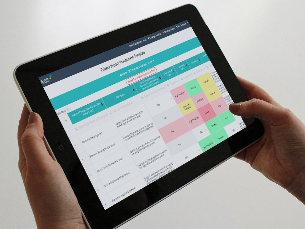 Mobile Friendly Privacy Impact Assessment Tool