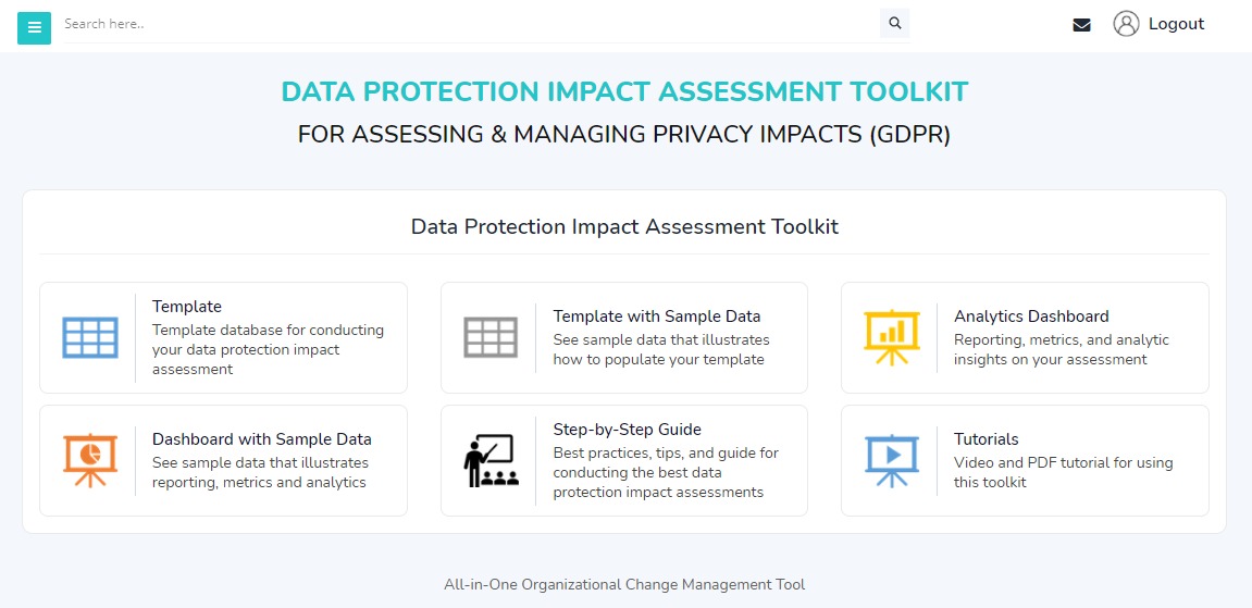 Data Protection Impact Assessment (DPIA) Home Page