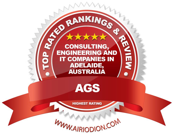 business consultant adelaide - Red Award Emblem